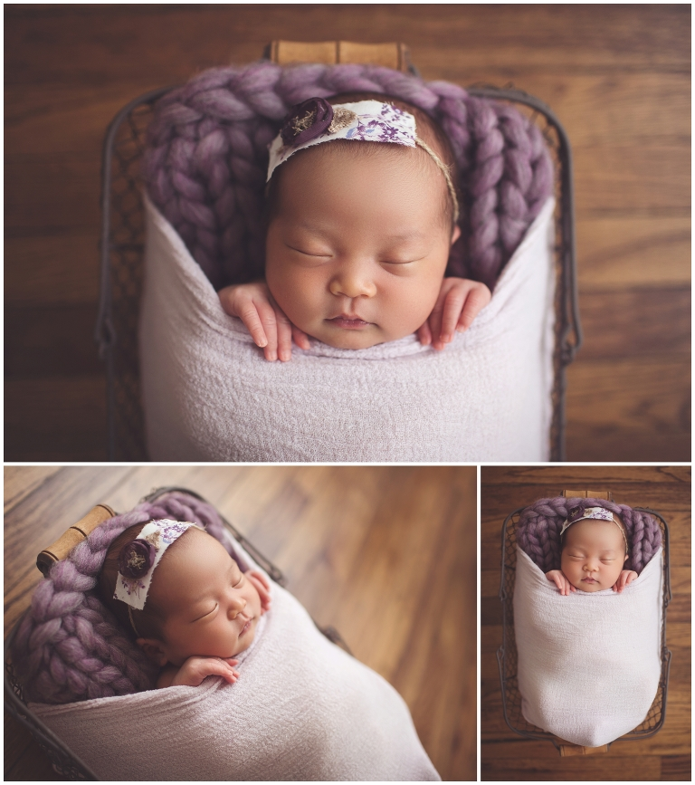 newborn studio photographer Northville